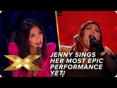Jenny Ryan sings Adele's 'Skyfall' in most EPIC performance yet | Semi-Final | X Factor: Celebrity