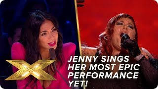 Jenny Ryan sings Adele's 'Skyfall' in most EPIC performance yet   Semi-Final   X Factor: Celebrity