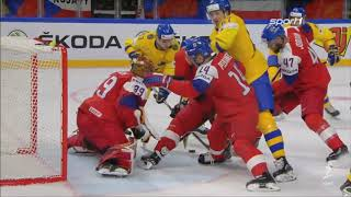 Eishockey WM 2018 - Schweden vs. Tschechien 3:2 / Highlights Sport1