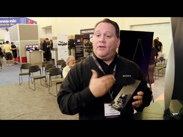 James Cito from Sony about SxS Remote Offloading @ DV Expo 2009 Travel Video
