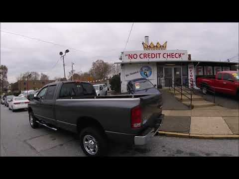 2003 Gray /Gray Dodge Ram 2500 SLT Quad Cab Long Bed 4WD (3D7KU28D33G) with an 5.7L V8 OHV 16V engine, Automatic transmission, located at 577 Chester Pike, Prospect Park, PA, 19076, (610) 237-1015, 39.886154, -75.302338 - Photo #0