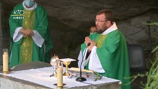 Messe du 19 septembre 2020 à Lourdes