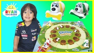 Diggin Doggies Family Fun Game For Kids Egg Surprise Toy Batman vs Superman Ryan ToysReview