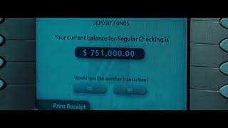 На вашем счете 751 000 $ ... отрывок из фильма (На Крючке / Eagle Eye)2008
