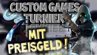 CUSTOM GAMES TURNIER JETZT LIVE! 😱🔥 I Fortnite Live Deutsch - Fortnite Deutsch