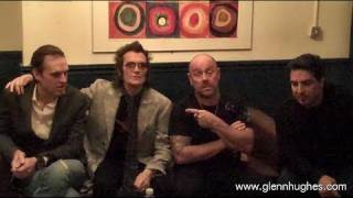 Message from Glenn Hughes & Black Country Communion - December 2010