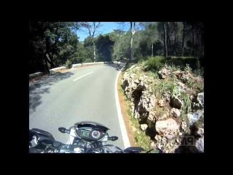 mallorca, bunyola to port de pollenca, motorbiking april 2014