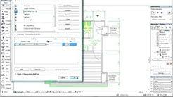 ArchiCAD 15 -  elementtien määrien luettelointi eri muutosvaiheissa