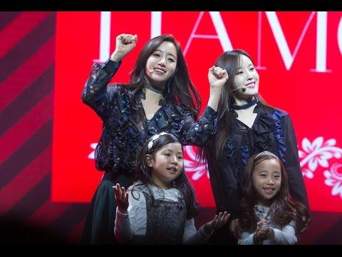 [Fancam] Eunjung - TIAMO T-ara comeback showcase 161109