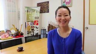 Обучение в Японии. Айнура о школе Киото Минсай.