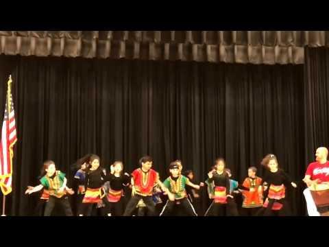 1st grade Salem Elementary school Ailey Kids African dance performance  - Mrs. Martin's class