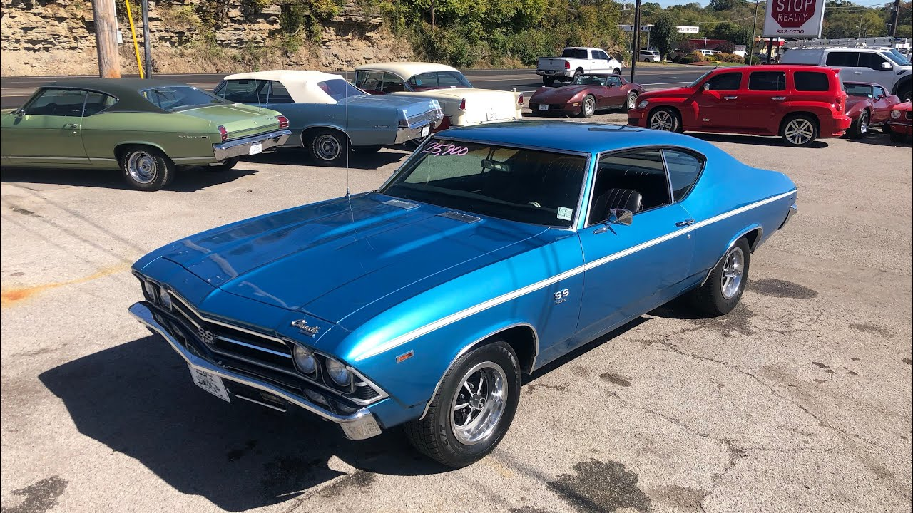 Image result for Test Drive 1969 Chevelle Big Block 454 SOLD $23,900 Maple Motors #496