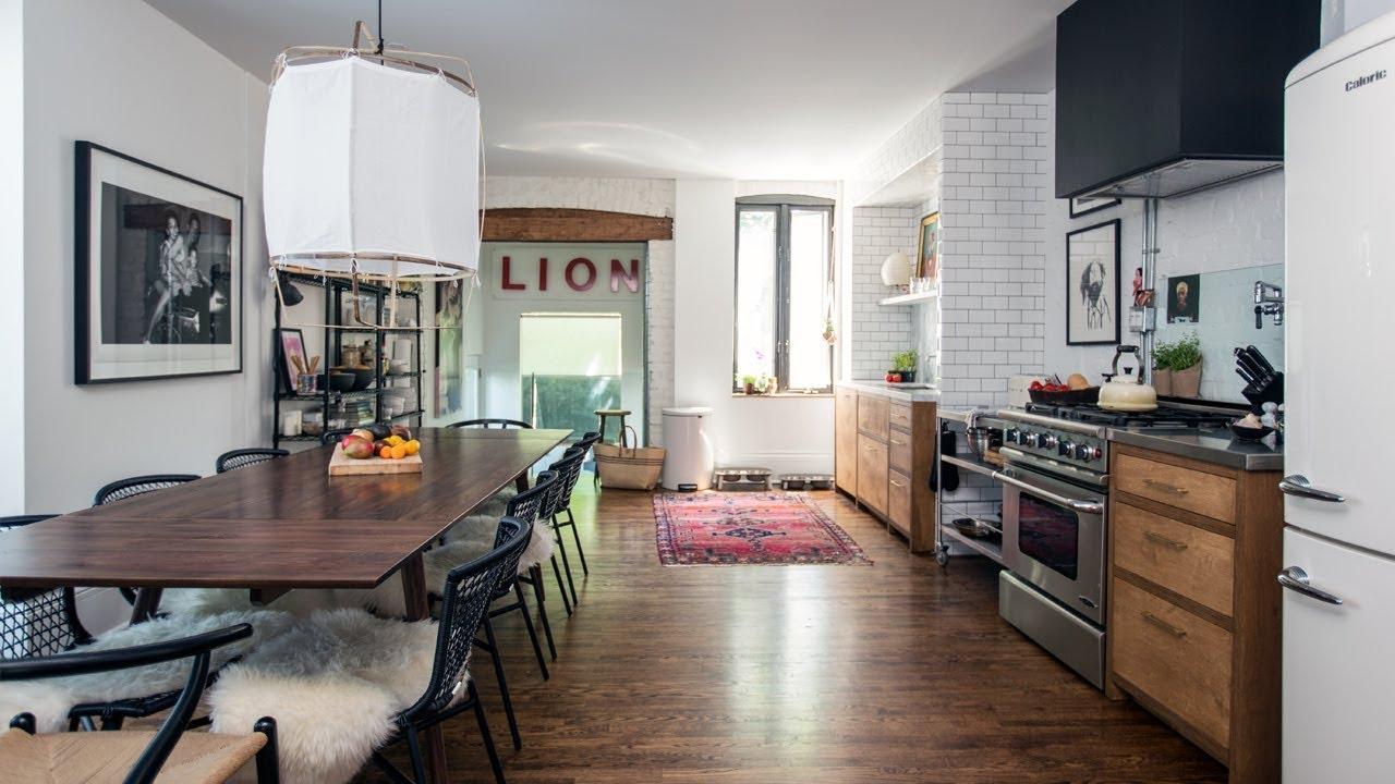 Edgy Open-Concept Kitchen & Main Floor