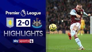 Hourihane free-kicks lead Villa to victory! | Aston Villa 2-0 Newcastle | Premier League Highlights