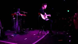 Zach Herron performing his cover of Stitches by Shawn Mendes live at Taking You Seattle