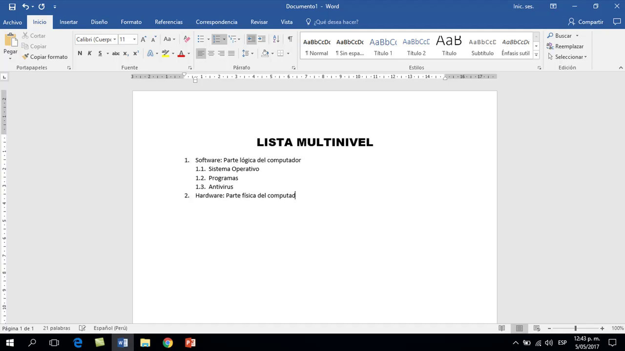 Download LISTA MULTINIVEL