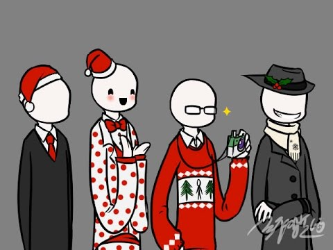 Cweepypasta - Meet the Slendies (CHRISTMAS SPECIAL) - YouTube