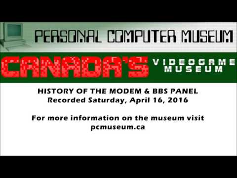 History of the BBS and Modem - Personal Computer Museum Panel