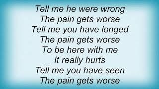 Archive - The Pain Gets Worse Lyrics