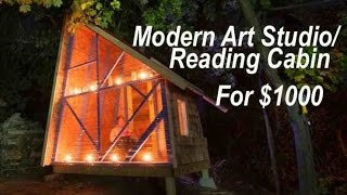 A $1000 Backyard Tiny House-like Art/reading Studio Near Boston...