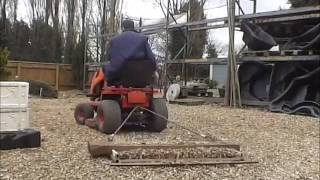 Home Made Gravel Rake - Driveway grader Part 1