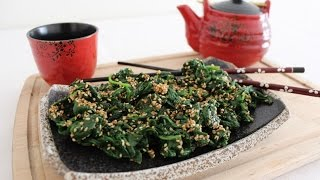 How To Make Japenese Style Spinach