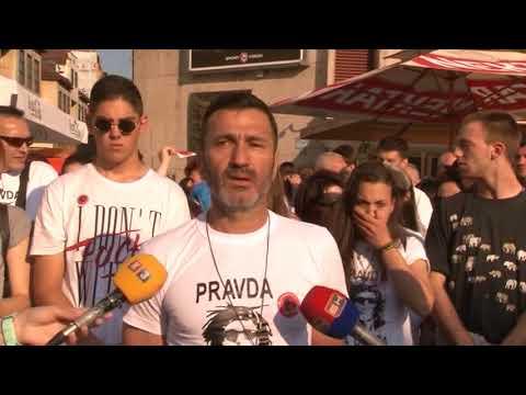 Banja Luka- Pravda za Davida 56. dan 20 5 2018
