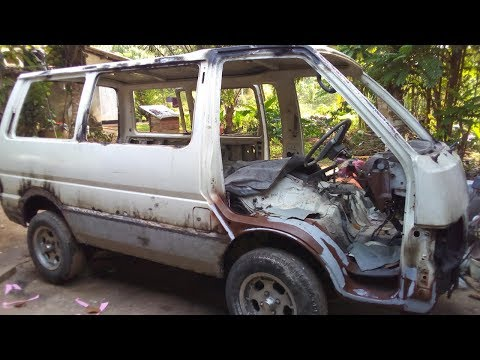 Nissan Vanette Restoration | Nissan Vanette Repair And Repaint