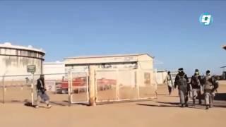 فيديو بوابة الوسط | «داعش» يهاجم ميناء رأس لانوف واشتعال خزاني نفط