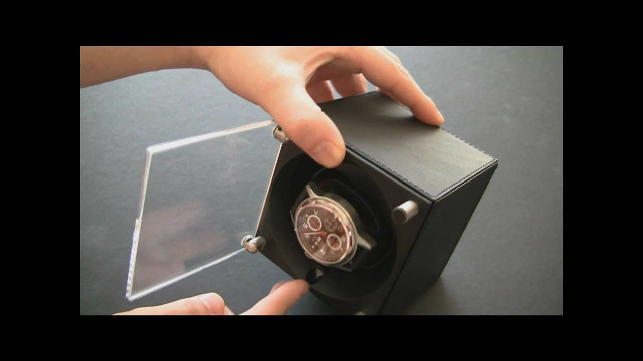 SwissKubiK Watch Winder Review - YouTube