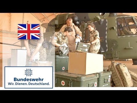 The Bundeswehr's NH-90s on medevac mission in Mali: the rescue chain