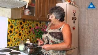 Как сделать творог из молока и лимона
