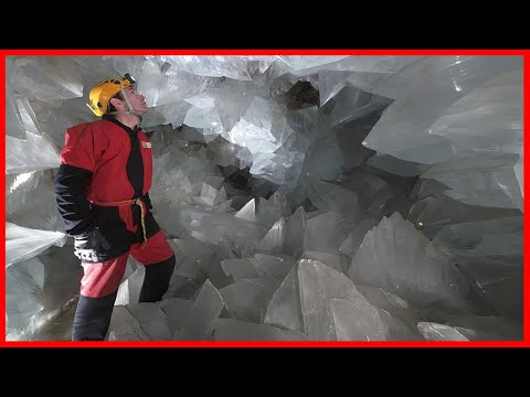 Visit Spain's Giant Geode On 2019. Largest Cave Of Crystals In Europe!