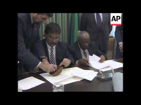 SOUTH AFRICA: CUBAN FOREIGN MINISTER ROBERTO ROBAINA VISIT
