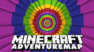 Der tiefe Fall in Adventure Map Modern Dropper 2