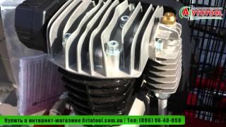 Видео-обзор №2 Компрессор поршневой 90л Dari Mistral 90/490-3M | «AVTOTOOL™»