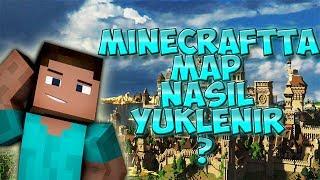 Minecraft Map Nasıl Yüklenir , Kurulur.