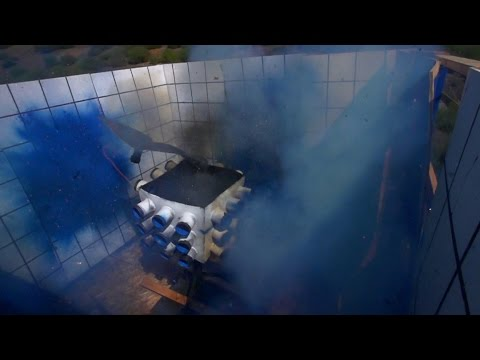 This Explosive Paint Experiment Might Be A Little Too Explosive | MythBusters: The Search