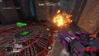 Gambar cover Quake Champions - Blood Run Deathmatch - running on Alienware 17R4/GTX1080/120hz/G-Sync