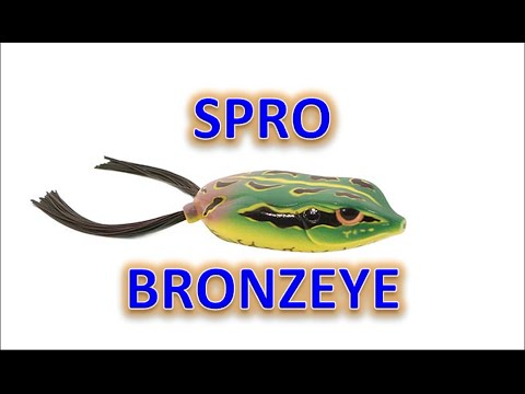 Flair Fishing Review: Spro Bronzeye Frog