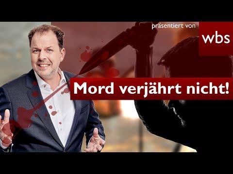 Mord verjährt nicht! Mann nach 32 Jahren verurteilt | Rechtsanwalt Christian Solmecke