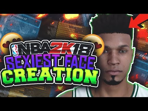 BEST FACE CREATION ON NBA 2K18!!• NOLIMITTY SEXIEST MYPLAYER FACE CREATION😍!! • LOOK FRESH IN PARK!