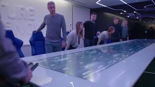 Multi touch conference table