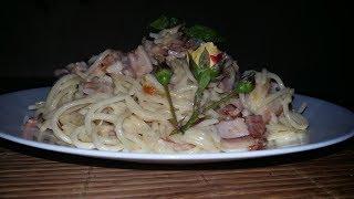 Паста карбонара   Обрусевшие рецепты   Pasta carbonara