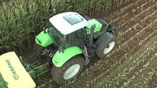 Deutz-Fahr Agrotron X al lavoro (2007)