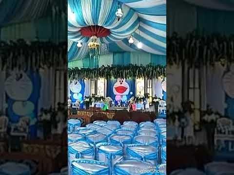 Unik Pesta Pernikahan Ini Bertemakan Doraemon Dari
