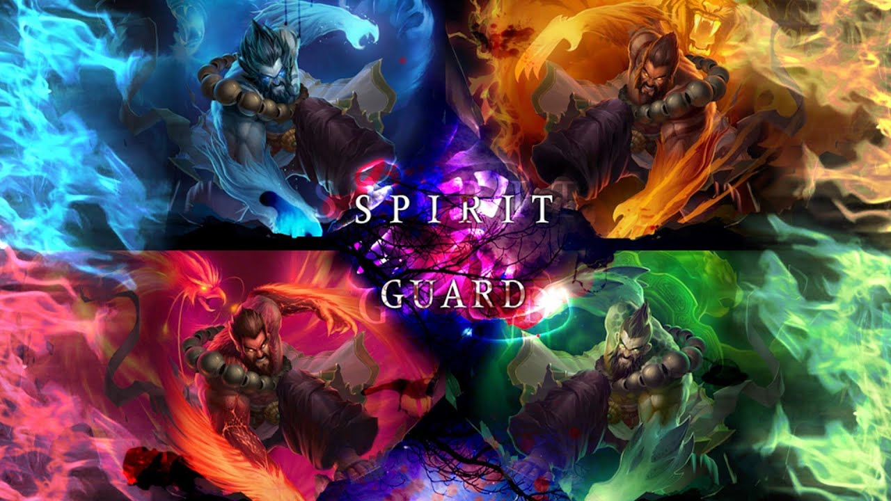 League Of Legends - Spirit Guard Udyr Comic - YouTube