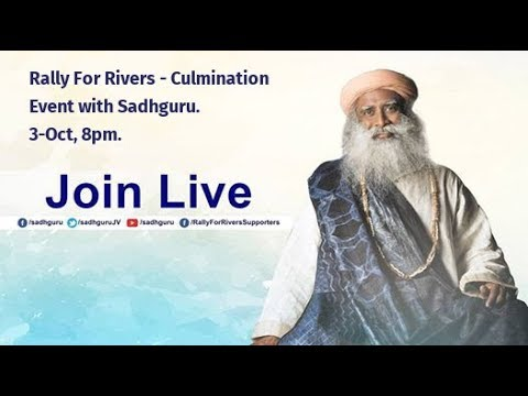 Rally for Rivers - Culmination Event with Sadhguru - New Delhi