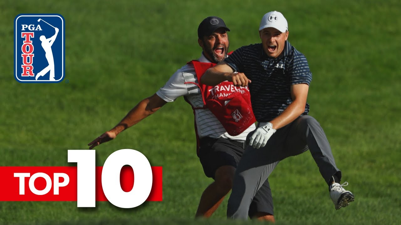 Top-10 all-time shots from the Travelers Championship
