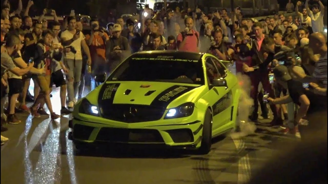 BEST Of Top Marques Monaco 2018! POLICE VS Supercars - Burnout, Acceleration, Revs,... - YouTube